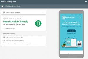 ابزار موبایل فرندلی گوگل