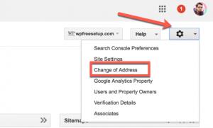 تغییر ادرس سایت بدون افت رتبه گوگل - change address site